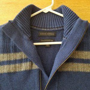 BANANA REPUBLIC Mens Merino Wool Blend Sweater XL